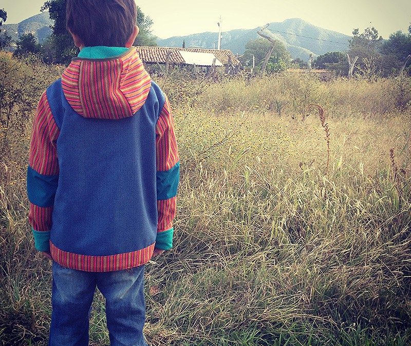 Mekishico handmade jackets for kids